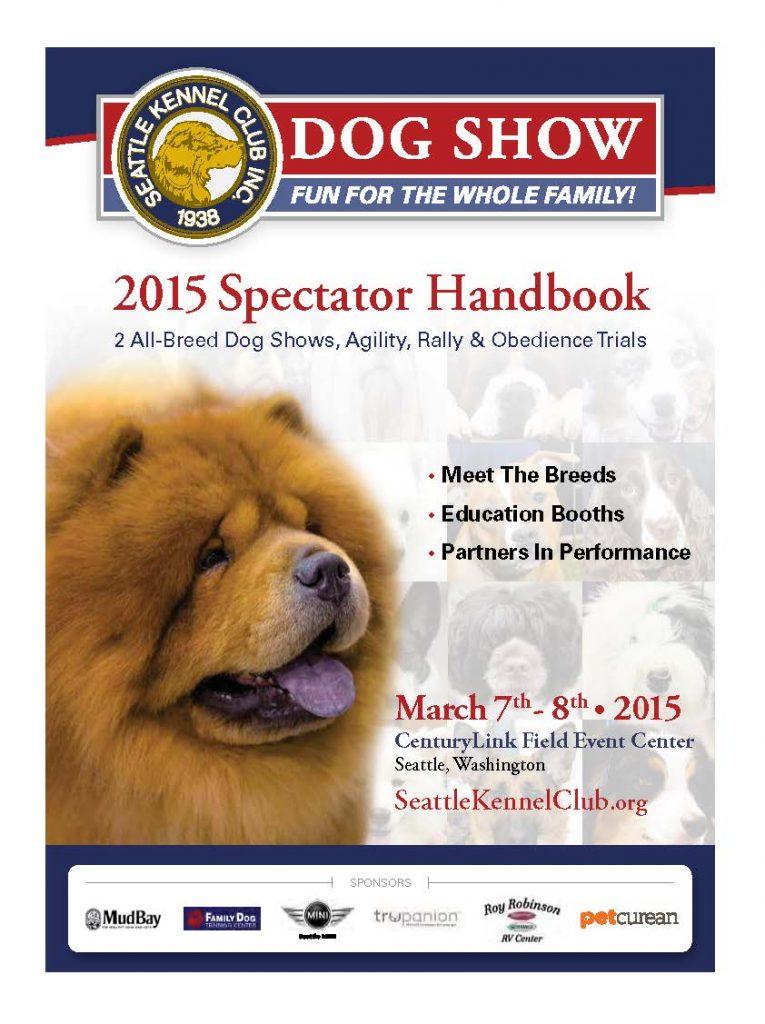 2015 SKC Show Spectator Handbook Cover Image