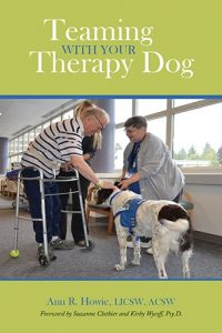 Teaming With Your Therapy Dog Cover