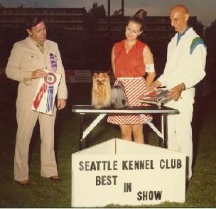 SKC 1970<br>Best in Show Winner<br> The Yorkshire Terrier